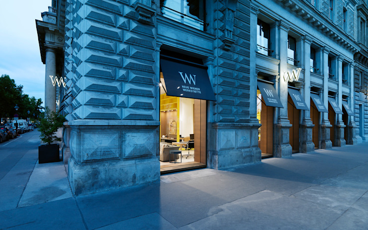 Neue Wiener Werkstätte Eclectic style commercial spaces