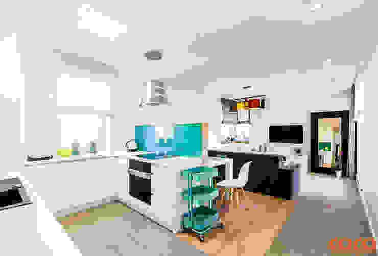 Küche von COCO Pracownia projektowania wnętrz, Modern
