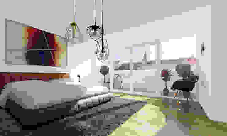 Modern Yatak Odası loomilux Modern