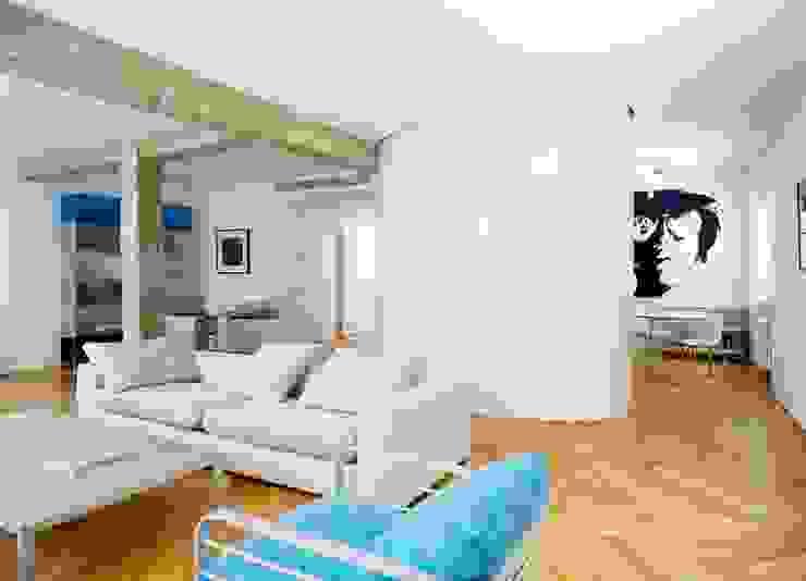 Desengaño Salones de estilo minimalista de Maroto e Ibañez Arquitectos Minimalista