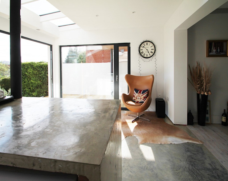 The Cube Cocinas de estilo moderno de Adam Knibb Architects Moderno