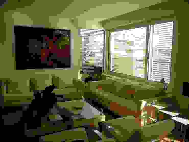 Maroto e Ibañez Arquitectos Minimalist living room