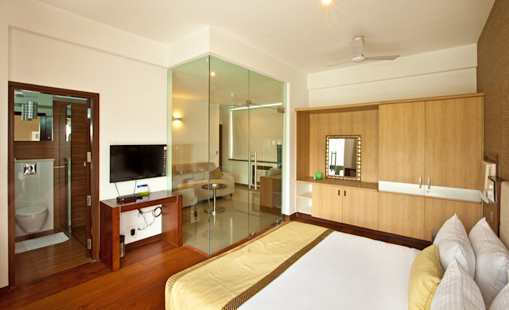SYS Properties & Service apartments : country  by Kumar Moorthy & Associates,Country