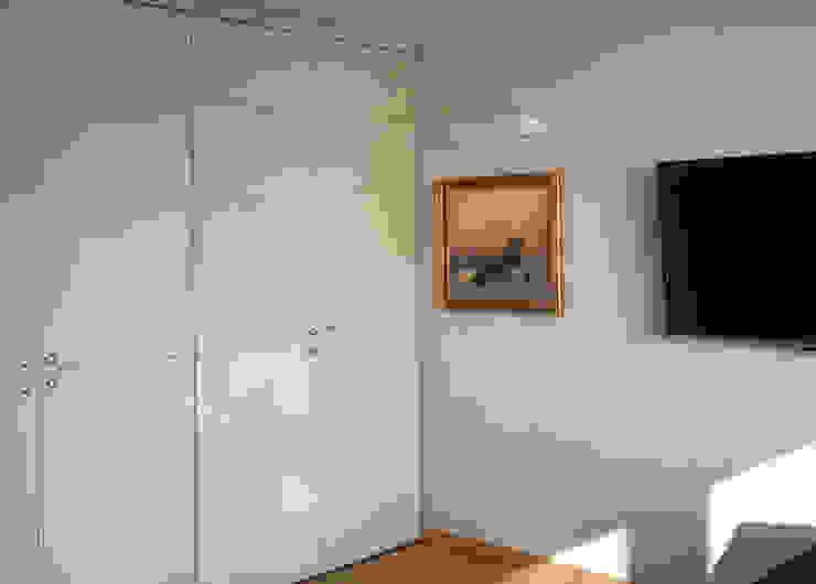 Mieszkanie prywatne Sosnowiec Minimalistyczny salon od Projektowanie Wnętrz Agnieszka Noworzyń Minimalistyczny