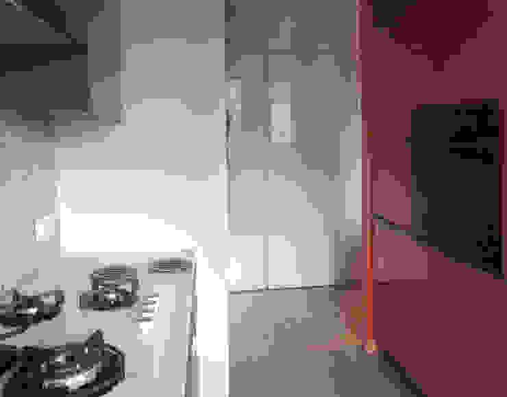 Mieszkanie prywatne Sosnowiec Minimalistyczna kuchnia od Projektowanie Wnętrz Agnieszka Noworzyń Minimalistyczny
