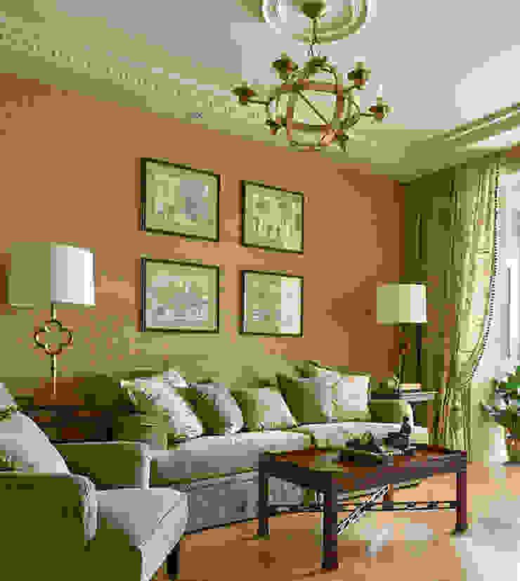Мечта аристократа Гостиная в классическом стиле от VVDesign Классический