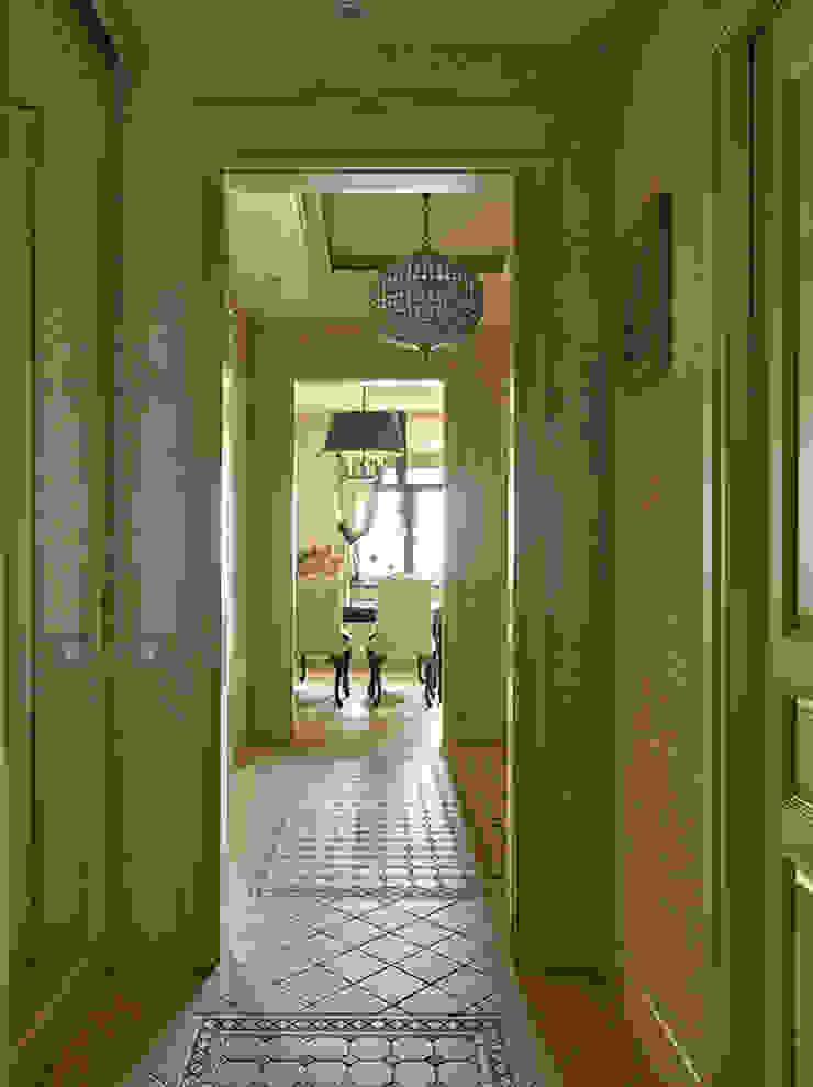 Мечта аристократа Коридор, прихожая и лестница в классическом стиле от VVDesign Классический