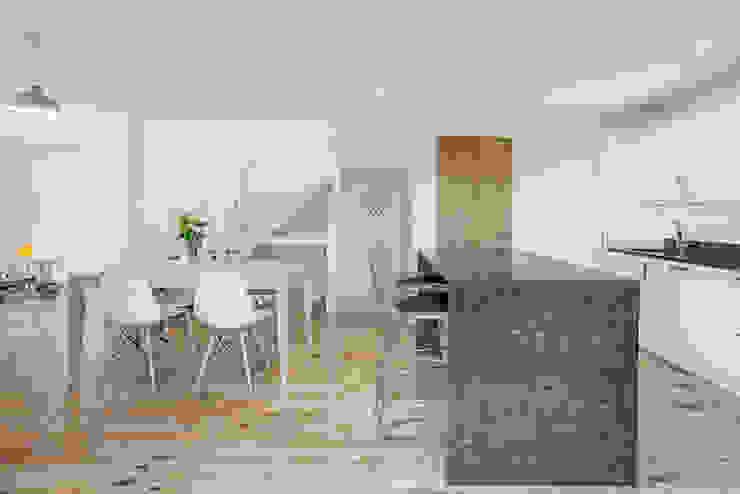 The Cedar Lodges Cocinas modernas de Adam Knibb Architects Moderno