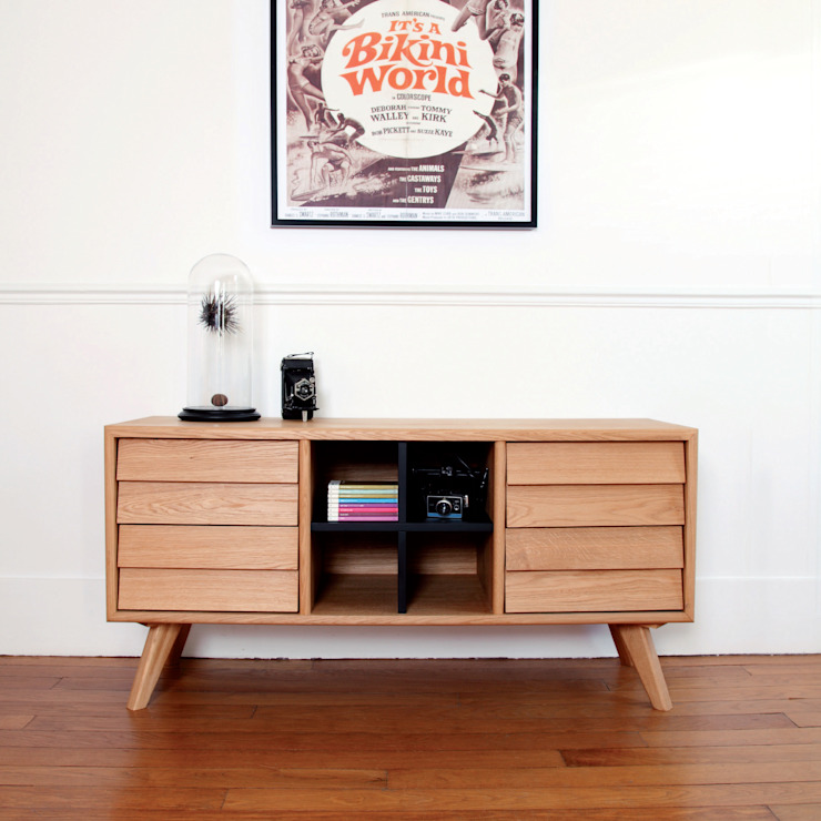 The Hansen Family - Remix Collection Sideboard von Connox Rustikal