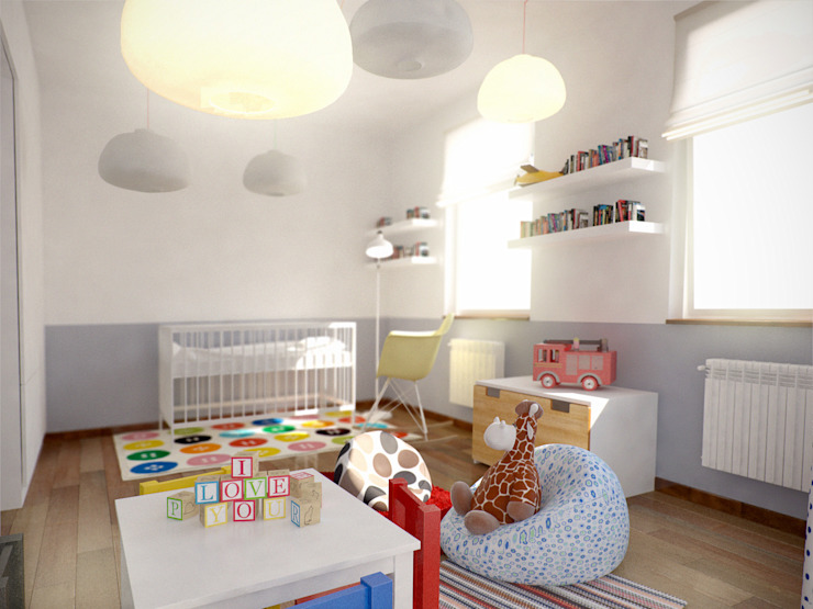 Minimalist nursery/kids room by grupa KMK sp. z o.o Minimalist
