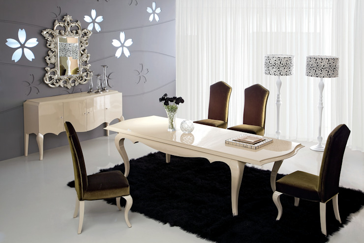 Столовая Roma Столовая комната в классическом стиле от Neopolis Casa Классический