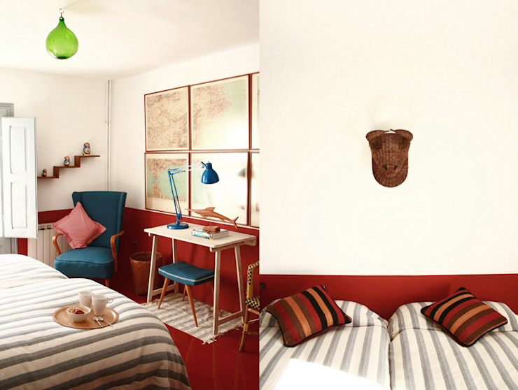 غرفة نوم تنفيذ Casa Josephine,