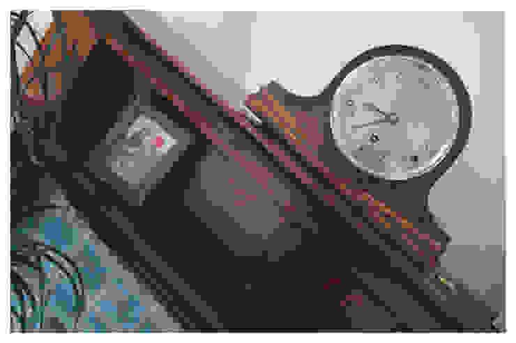 Living Room, Leeds Crow's Nest Interiors Living roomFireplaces & accessories
