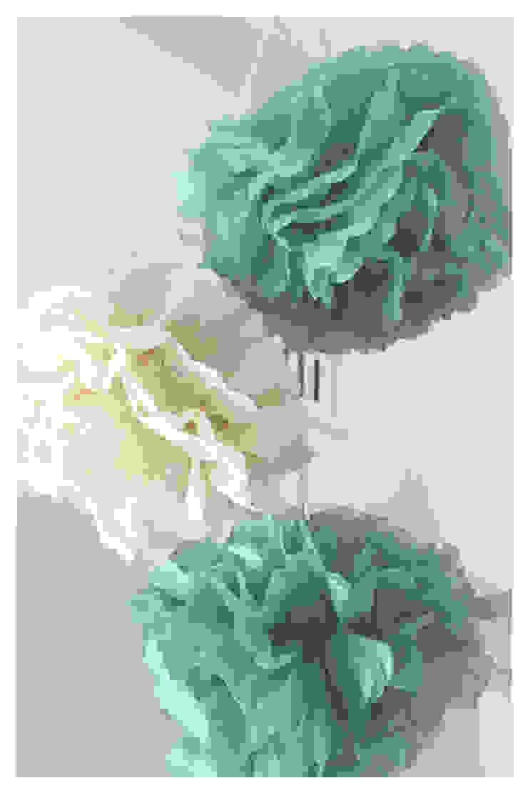 Paper pom poms Crow's Nest Interiors Nursery/kid's roomAccessories & decoration