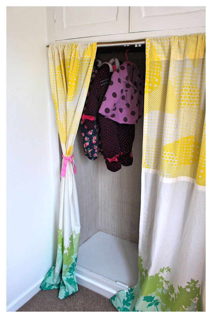 Baby's Room, Pool-in-Wharfedale Crow's Nest Interiors Nursery/kid's roomWardrobes & closets