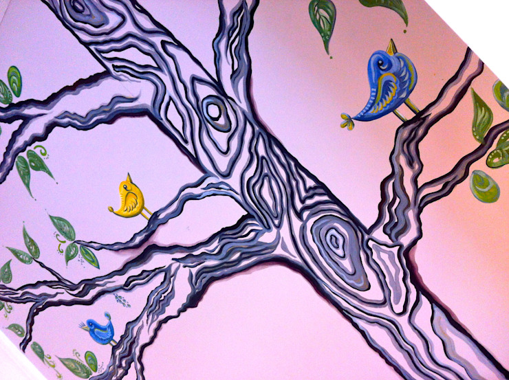 Wall mural Crow's Nest Interiors ArtworkPictures & paintings