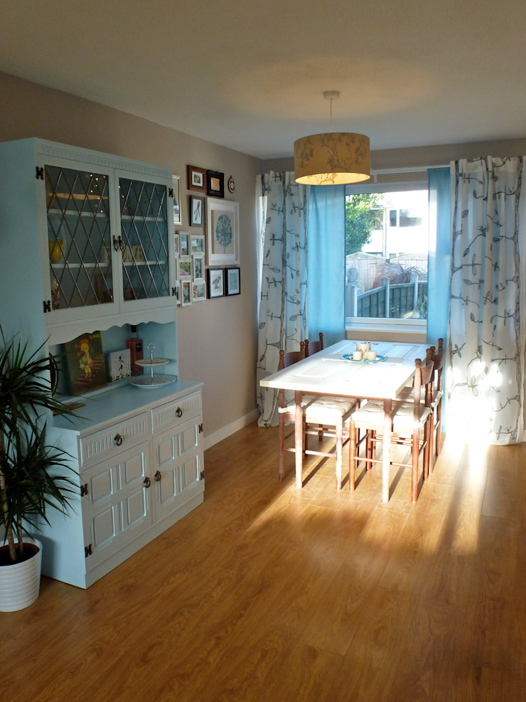 Living & Dining Room, Kippax Crow's Nest Interiors Eclectic style dining room