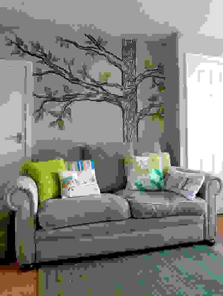 Living & Dining Room, Kippax Crow's Nest Interiors Living room