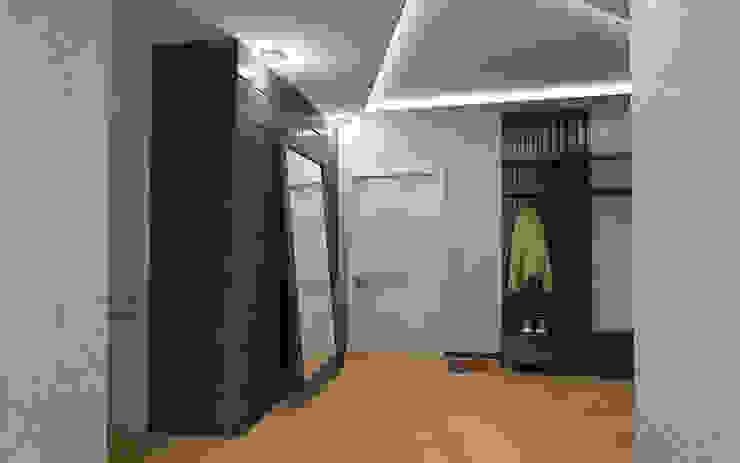 Прихожая Коридор, прихожая и лестница в стиле лофт от studio forma Лофт