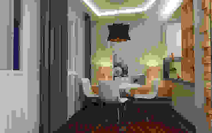 Обеденная зона Столовая комната в стиле лофт от studio forma Лофт