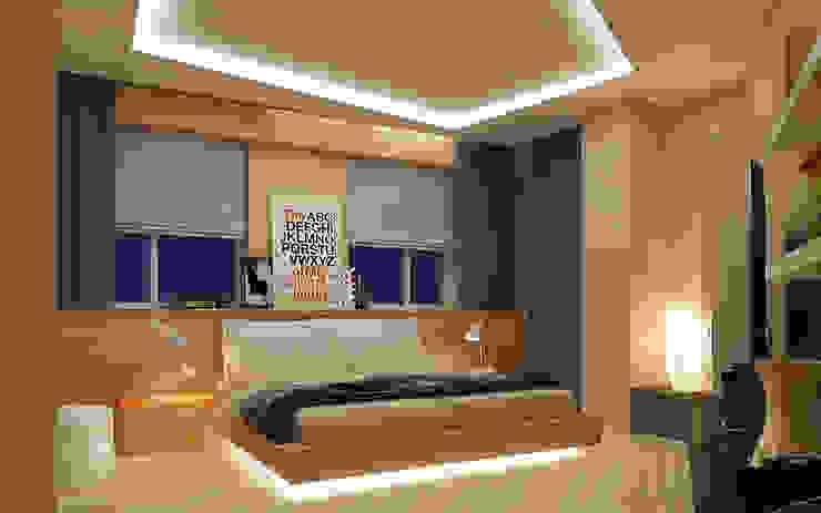 Спальня Спальня в стиле лофт от studio forma Лофт