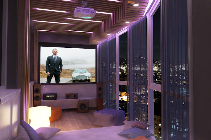 Лоджия Балкон и веранда в стиле лофт от studio forma Лофт