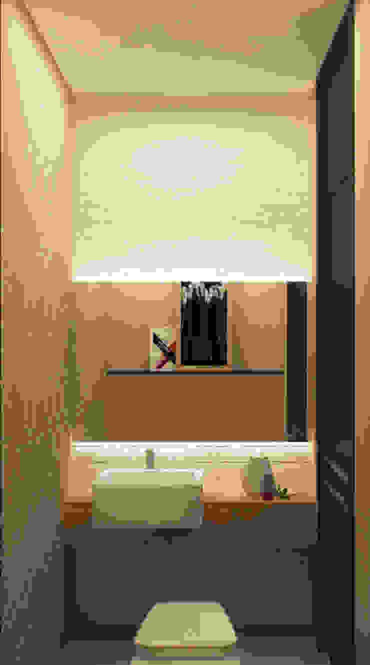 Гостевой санузел Ванная в стиле лофт от studio forma Лофт