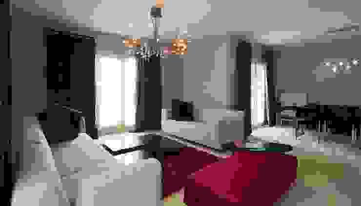 Salas de estilo moderno de Nurettin Üçok İnşaat Moderno