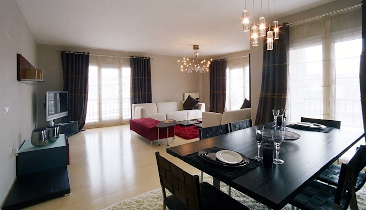 Arinnapark Modern Oturma Odası Nurettin Üçok İnşaat Modern