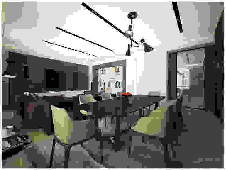 «50 оттенков кофе» Гостиная в стиле модерн от Medianyk Studio Модерн