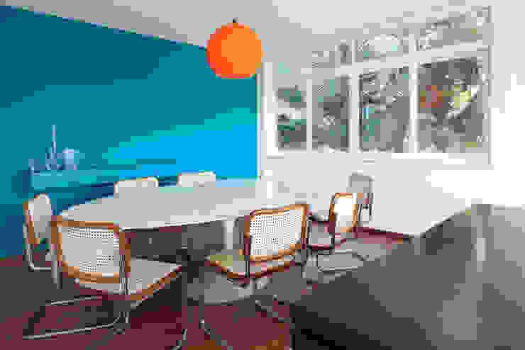 Projeto Amauri Salas de jantar modernas por Suite Arquitetos Moderno
