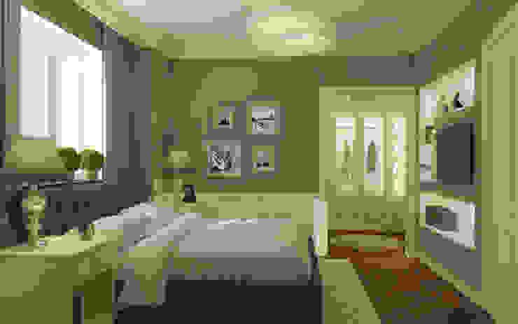 Спальня Спальня в эклектичном стиле от studio forma Эклектичный