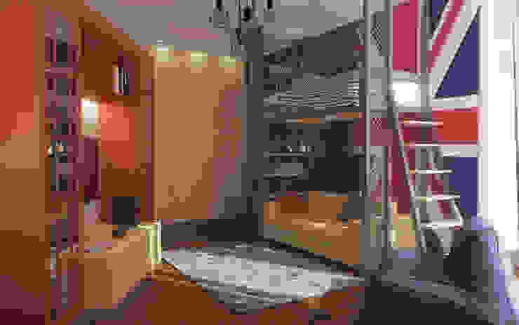 Детская Детские комната в эклектичном стиле от studio forma Эклектичный