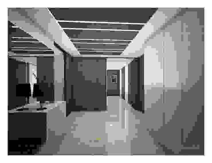 «50 оттенков кофе» Коридор, прихожая и лестница в модерн стиле от Medianyk Studio Модерн
