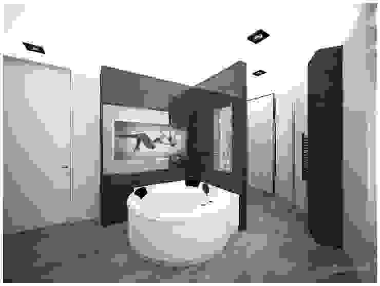 «50 оттенков кофе» Ванная комната в стиле модерн от Medianyk Studio Модерн