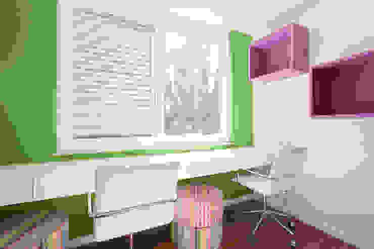 Projeto Amauri Quarto infantil moderno por Suite Arquitetos Moderno