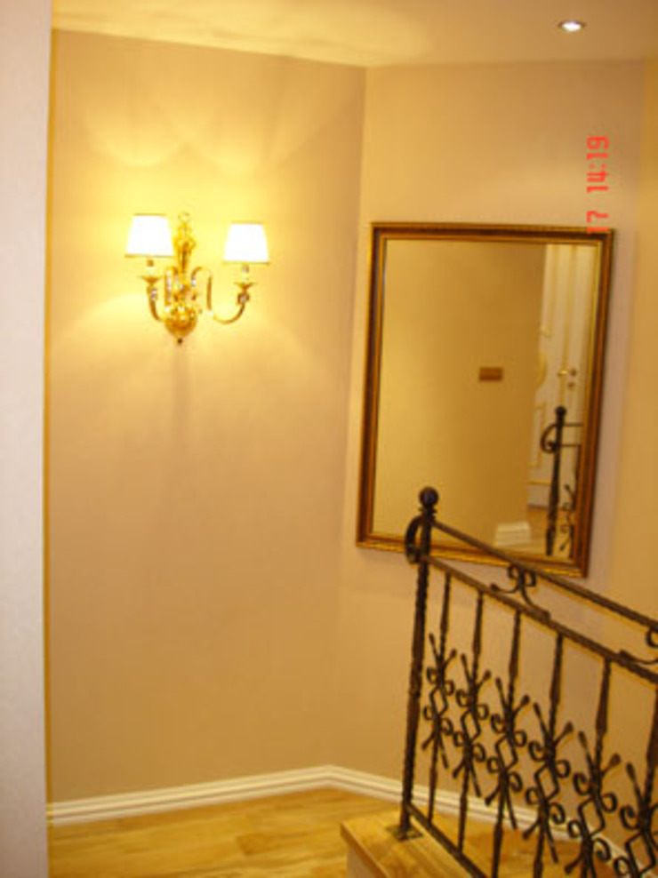 Pasillos, vestíbulos y escaleras modernos de AR-ES MİMARLIK TİCARET LTD STİ Moderno