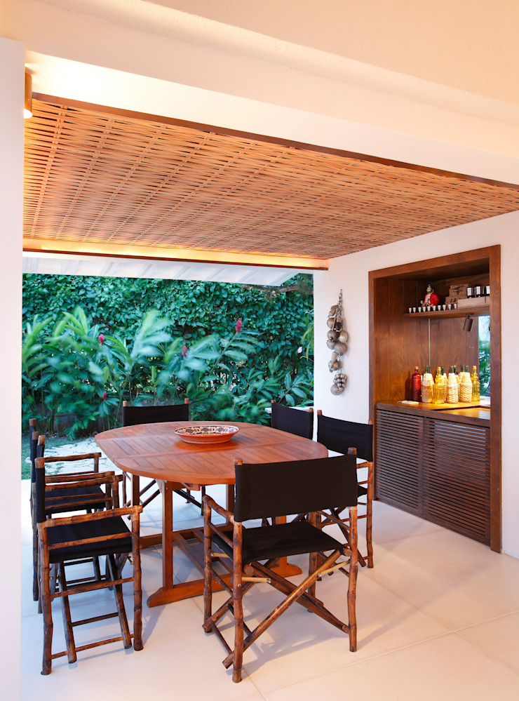 Escala Arquitetura Country style dining room