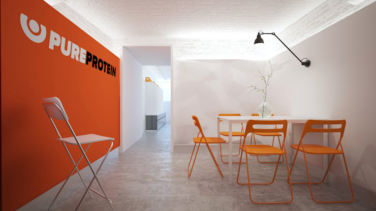 Minimalist offices & stores by KYD BURO Minimalist