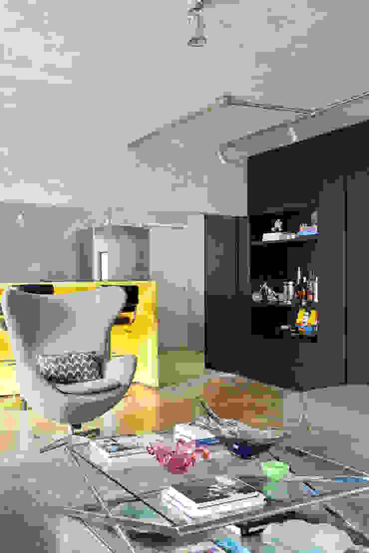 PROJETO PEIXOTO GOMIDE Salas de estar modernas por Suite Arquitetos Moderno