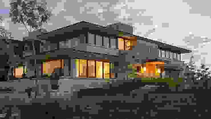 Casa DF Casas estilo moderno: ideas, arquitectura e imágenes de Artigas Arquitectos Moderno