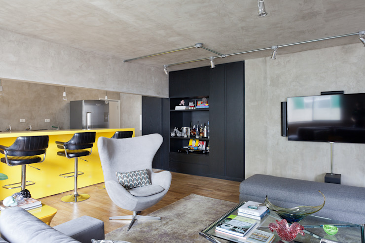 Suite Arquitetos Modern living room