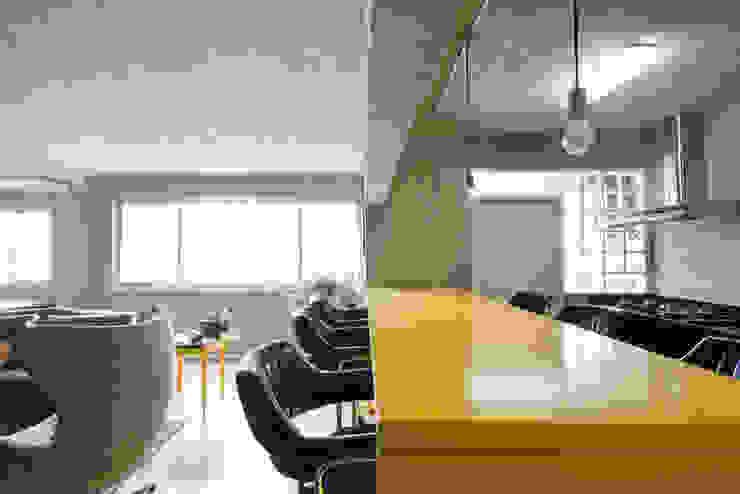Projekty,  Kuchnia zaprojektowane przez Suite Arquitetos, Nowoczesny