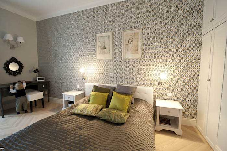 Eclectic style bedroom by MATELIER Eclectic