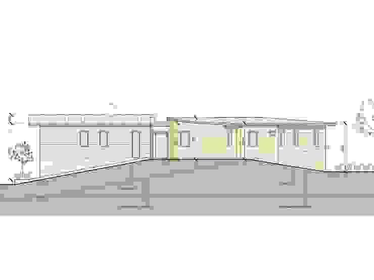 Progetto di Casa ad alta efficienza energetica Studio Architetti Cornacchini - De Boni Case moderne
