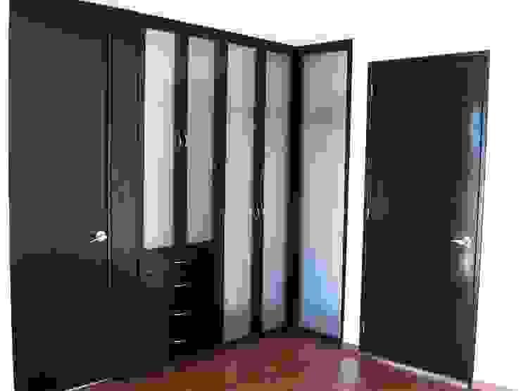 Casa LV: Vestidores y closets de estilo  por IPALMA ARQUITECTOS, Minimalista