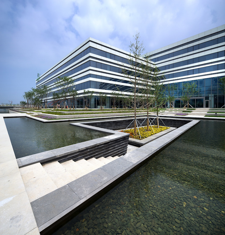 Element Suzhou Science and Technology Town, Suzhou, China, by Aedas: modern  by Architecture by Aedas, Modern
