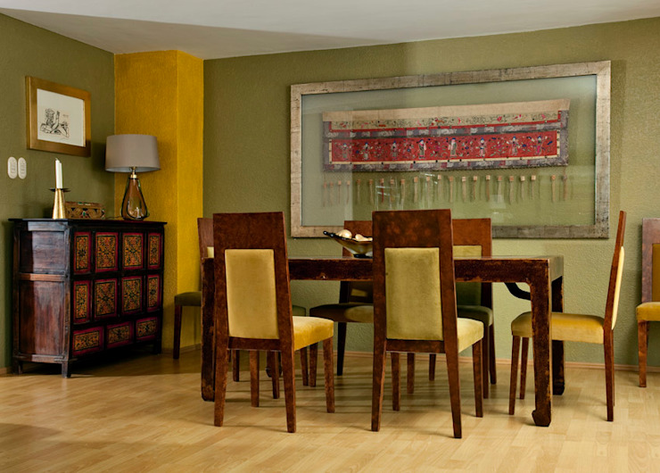 Dining room by Erika Winters® Design,