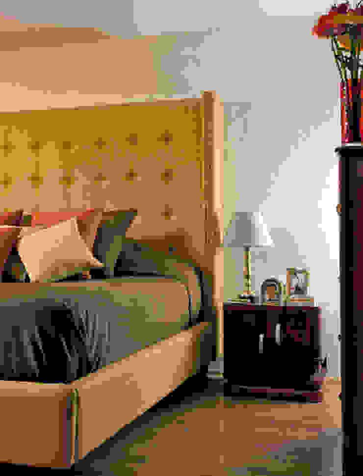 Taine Decor, Mexico City. 2009 Recámaras eclécticas de Erika Winters® Design Ecléctico