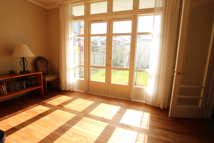 Sakurayama-Architect-Design Ruang Keluarga Klasik